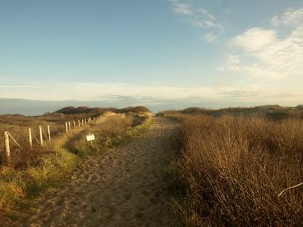 Provincetown Cape Cod vacation rental - Herring Cove path. (10-minute bike ride)