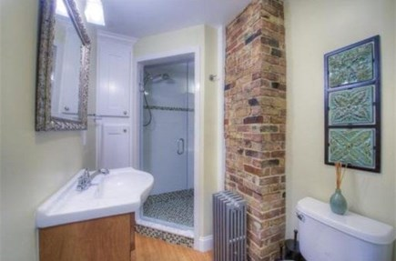 Provincetown Cape Cod vacation rental - Bathroom with spacious tile shower.