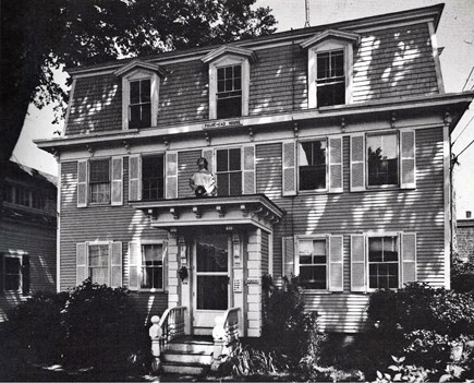 Provincetown Cape Cod vacation rental - Vintage Picture of the Figurehead House.