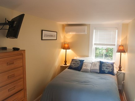 Provincetown Cape Cod vacation rental - Bedroom with queen-size bed.
