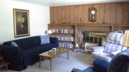 South Dennis Cape Cod vacation rental - Living room.