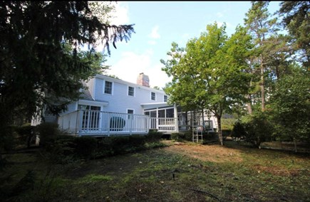 Cotuit Cotuit vacation rental - Back yard