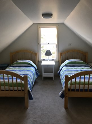 Brewster Cape Cod vacation rental - Twin beds under the eaves, adjoin second floor blue bedroom
