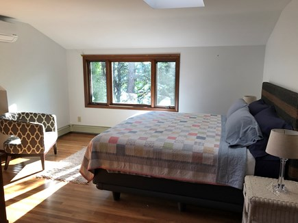 Brewster Cape Cod vacation rental - Third king bedroom with pond view.