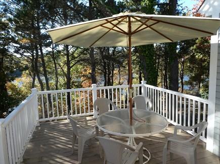 Brewster Cape Cod vacation rental - New deck overlooks pond