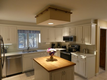 Brewster Cape Cod vacation rental - Renovated kitchen with a pond view