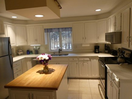 Brewster Cape Cod vacation rental - Bright cook's kitchen