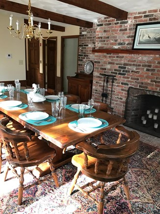 Brewster Cape Cod vacation rental - Spacious dining area seats 8-10 easily.