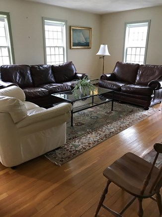 Brewster Cape Cod vacation rental - Comfortable and inviting seating for the whole family.