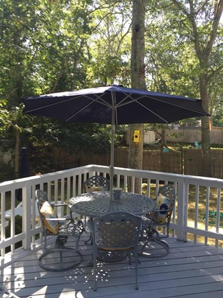 East Falmouth Cape Cod vacation rental - Back Porch
