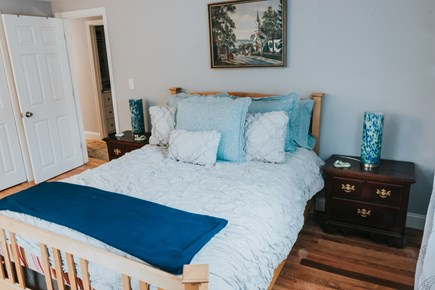 East Falmouth Cape Cod vacation rental - Master bedroom with Queen Bed