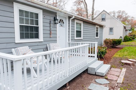 East Falmouth Cape Cod vacation rental - Front porch
