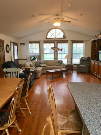 Harwich Cape Cod vacation rental - Family room, dining, kitchen