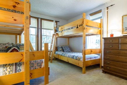 Harwich on Dennis Border Cape Cod vacation rental - Bedroom 3 - One full and three twins