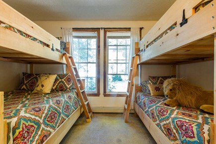 Harwich on Dennis Border Cape Cod vacation rental - Bedroom 2 - One full and three twins