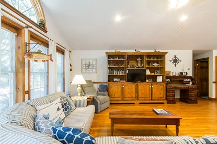 Harwich on the Dennis Border Cape Cod vacation rental - Living Room Comfortable for the whole family