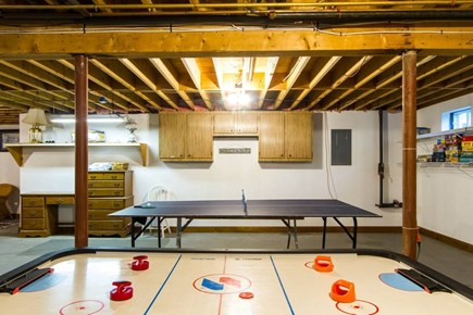 Harwich Cape Cod vacation rental - Basement Air Hockey and Ping Pong