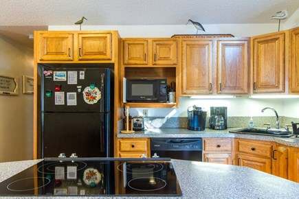 Harwich on the Dennis Border Cape Cod vacation rental - The kitchen includes all the features of home - well stocked