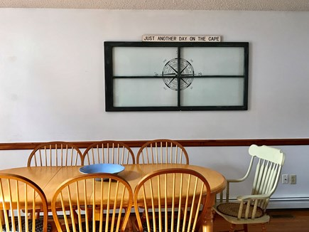 Harwich Cape Cod vacation rental - Dining area