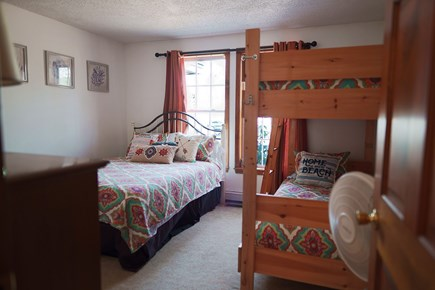 Harwich on Dennis Border Cape Cod vacation rental - Queen and Two Twin Bedroom