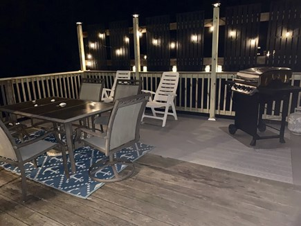 Harwich on Dennis Border Cape Cod vacation rental - Enjoy evenings on the deck