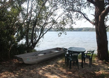 Eastham Cape Cod vacation rental - Sitting Area on Herring Pond ~ 100 Crosby Village Road ~ Eastham