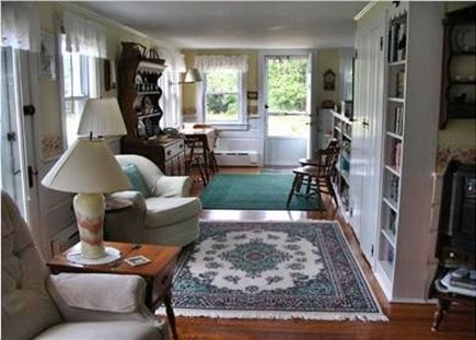 Eastham Cape Cod vacation rental - Living to Dining ~ 100 Crosby Village Road ~ Eastham