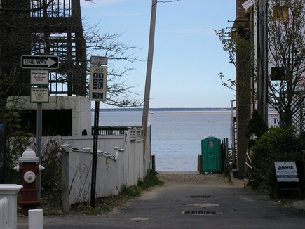 Provincetown Cape Cod vacation rental - View across the street to Bay