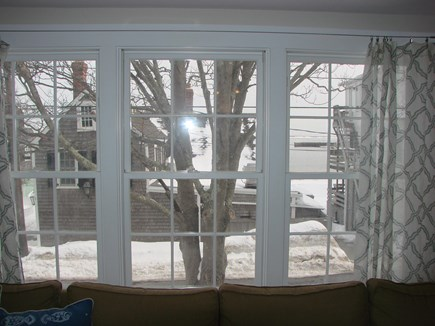 Provincetown Cape Cod vacation rental - View of Water in the snow
