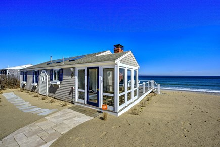 East Sandwich Cape Cod vacation rental - Front view of cottage from road side.