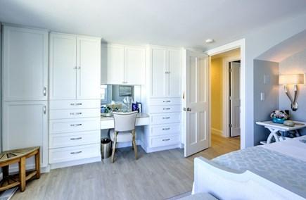 East Sandwich Cape Cod vacation rental - Built in bureau and vanity in Master Bedroom.