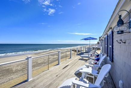 East Sandwich Cape Cod vacation rental - Amazing views from the wrap around deck.