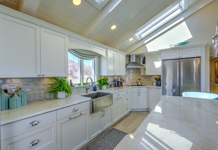 East Sandwich Cape Cod vacation rental - Stunning Kitchen with top of the line appliances.
