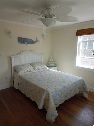 DennisPort Cape Cod vacation rental - 1st Bedroom with queen size bed tastefully decorated