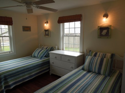 DennisPort Cape Cod vacation rental - 2nd Bedroom with twin beds