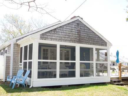 DennisPort Cape Cod vacation rental - Screened in Porch