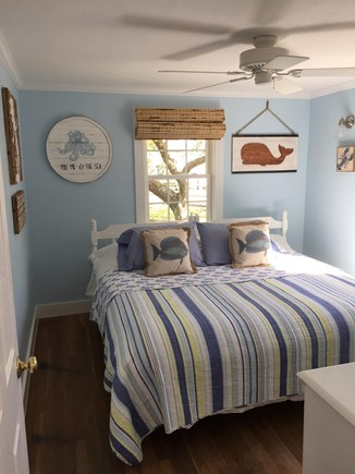DennisPort Cape Cod vacation rental - 2nd bedroom - twin beds pushed together to make king size.