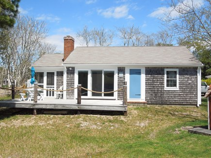 DennisPort Cape Cod vacation rental - Lounge on the deck and feel the ocean breeze
