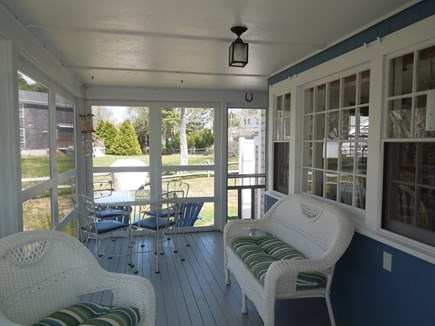 DennisPort Cape Cod vacation rental - Relax maybe read a book while the ocean air surrounds you.