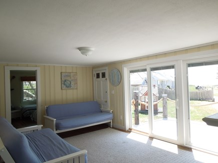 DennisPort Cape Cod vacation rental - Living Room with Ocean View