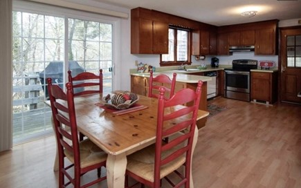 Brewster Cape Cod vacation rental - Dining and kitchen