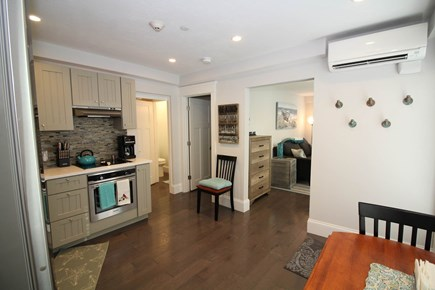 Provincetown Cape Cod vacation rental - Nicely-equipped kitchen with dining table