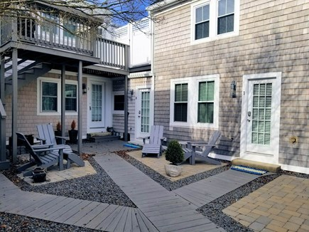 Provincetown Cape Cod vacation rental - Shared courtyard