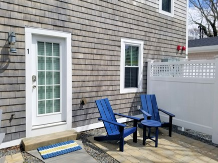 Provincetown Cape Cod vacation rental - Patio space with outdoor furniture