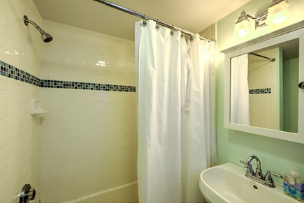 East Sandwich Cape Cod vacation rental - Updated tub/shower in Bath.
