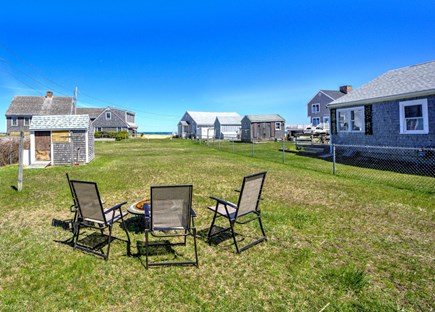 East Sandwich Cape Cod vacation rental - Fun firepit, fenced yard for your pet, and water views.