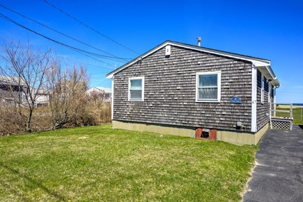 East Sandwich Cape Cod vacation rental - Off street parking beside the cottage.