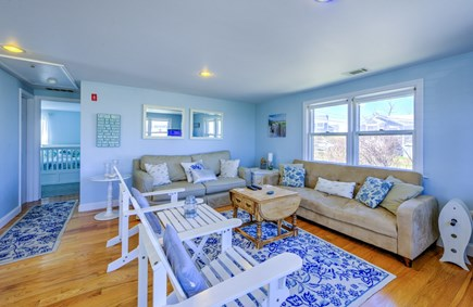 East Sandwich Cape Cod vacation rental - Plenty of seating in Living Room.