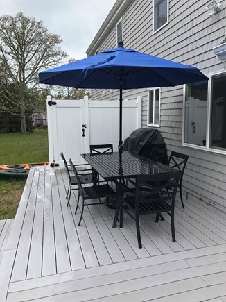 Eastham Cape Cod vacation rental - Outside patio