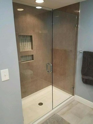Eastham Cape Cod vacation rental - Master Bath Shower